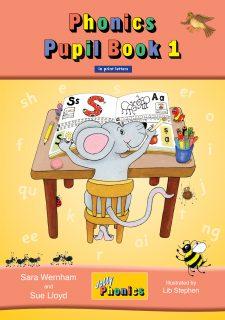 Jolly phonics pupils book 1 black & white €2. 66.